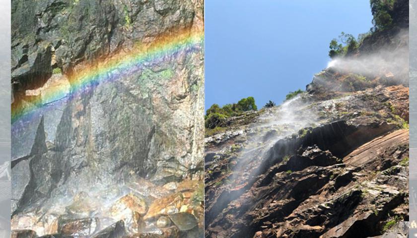林明山:彩虹瀑布