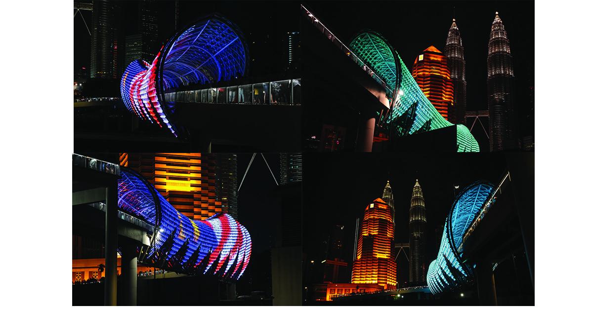雪隆区免费游玩的4个景点:Saloma Link行人天桥