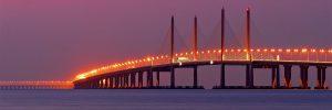 马来西亚冷知识:马来西亚最长的跨海大桥——槟城第二大桥
