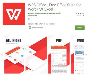 上班族必备:4个实用手机办公App:编辑文档——WPS Office